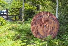 Teken van de Glenborrodale-zaagmolen royalty-vrije stock foto