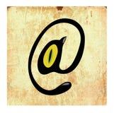 Teken van de post. Royalty-vrije Stock Afbeeldingen
