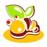 Teken van de zoet-winkel Yummy zoetheid Stock Afbeeldingen