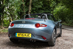 Teken 4 van Mazda Mx5/Mialta Royalty-vrije Stock Fotografie