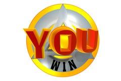 Teken van overwinning Stock Fotografie