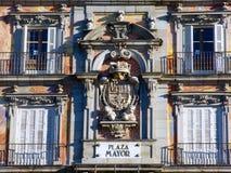 Teken van Plein Burgemeester Square Royalty-vrije Stock Fotografie