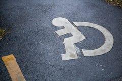 Teken voor de gehandicapten Royalty-vrije Stock Afbeelding