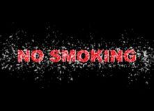 Nr die - roken Stock Afbeelding