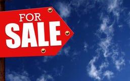 Teken voor verkoop Royalty-vrije Stock Afbeelding