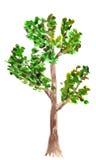 Tekening van boom Stock Afbeelding