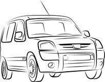 Tekening van de auto Royalty-vrije Stock Fotografie