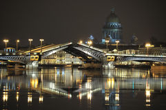 Tekening van een brug. Stock Foto's