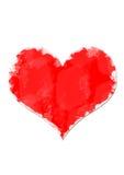 Tekening van een hart Stock Fotografie