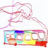 Tekenings Abstracte Baby Royalty-vrije Stock Afbeelding