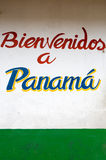 Tekenonthaal in Panama in Sixaola Stock Fotografie
