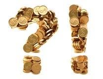 Tekens Royalty-vrije Stock Foto
