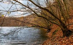 Tekens van het meer van de de herfstberg royalty-vrije stock foto's