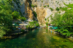 The Tekija, Blagaj stock images