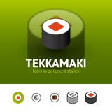 Tekkamaki icon in different style Stock Photos