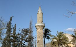 Tekke Muslim temple. In Larnaca Cyprus Royalty Free Stock Photo