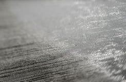 Teknik för att hälla betong på aerodromen Arkivfoto