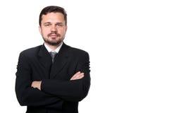 tekniker för stående för affärsman Arkivfoton