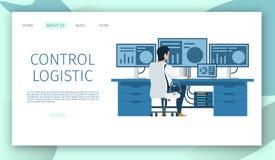 Teknikerarbetsplats Teckenarbete på datoren royaltyfri illustrationer