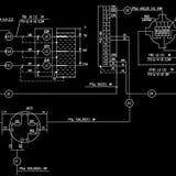 teknikplan Royaltyfria Bilder