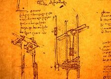 Teknikteckning arkivbilder