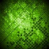 Teknisk bakgrund för abstrakt grön grunge vektor illustrationer
