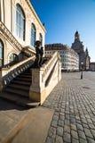 Teknisk museumbyggnad i Dresden Royaltyfri Fotografi
