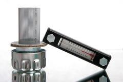teknisk termometer arkivfoton