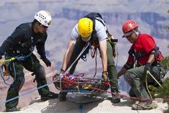 teknisk utbildning för räddningsaktion Arkivfoton