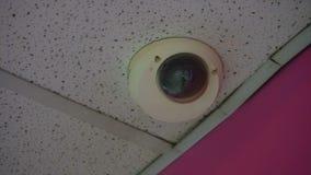 Tekniskt avancerad CCTV-kamera i gallerian lager videofilmer