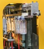 Tekniskt avancerad plast- industriell kopptillverkning Arkivbilder