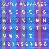 Tekniskt felen hackeralfabet Royaltyfria Foton