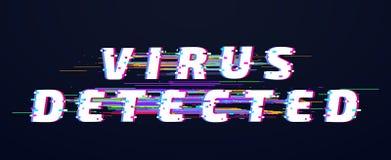 Tekniskt felstilsort Tekniskt felstilsort Viruset avkände glitched digitala bokstäver Virus för vhs för gammal tekniskt feltvdist stock illustrationer