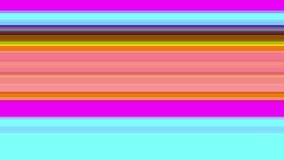 Tekniskt felTVskärm Färgglade band på en purpurfärgad bakgrund Arkivbilder