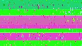 Tekniskt felTVskärm Grön bakgrund Arkivfoton