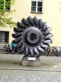 Tekniskt symbol för det tekniska museet (det Deutsche museet) i Munchen Royaltyfria Foton