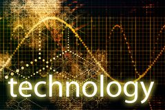 teknologi royaltyfri illustrationer