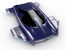 Teknologi för bil för begreppssvävandebil H3 Royaltyfri Foto