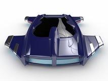 Teknologi för bil för begreppssvävandebil H3 Royaltyfria Foton