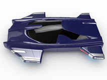 Teknologi för bil för begreppssvävandebil H3 Arkivfoton