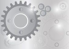 Teknologi för cirkel för teknikkugghjulhjul Stock Illustrationer
