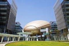 teknologi för Hong Kong parkvetenskap Arkivbilder