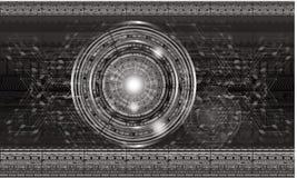teknologi för planet för telefon för jord för binär kod för bakgrund Royaltyfria Foton