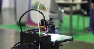 teknologi för printing 3d stock video