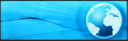 teknologi för baneraffärstitelrad Royaltyfria Bilder