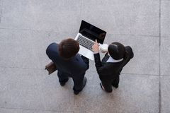 Teknologi i affärsidé Royaltyfria Foton