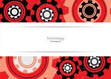 Teknologiabstrakt begrepp utrustar bakgrund Royaltyfri Fotografi