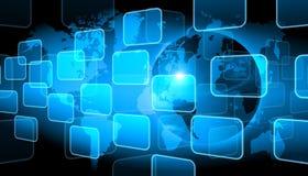 Teknologibakgrund Royaltyfri Bild