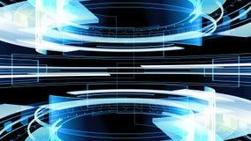 teknologibakgrund 4K som för abstrakt begrepp 3D kretsar animering