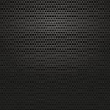 Teknologibakgrund med perforerat kol för cirkel Arkivbild